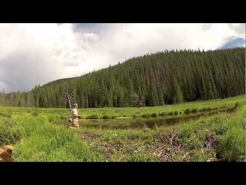 Stuart Ray and Adam Brewer fly fishing colorado