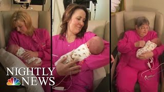 Inspiring America: 'Baby Cuddlers' Help Premature Babies In Early Days | NBC Nightly News