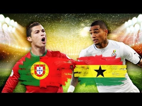 Portugal vs Ghana | Cristiano Ronaldo GOAL 2-1 (World Cup 2014)