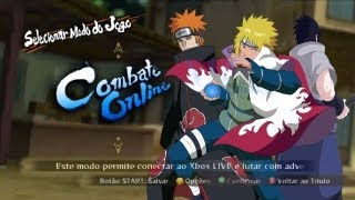 Naruto Ninja Storm 3 Online Battle / Torneio Minato FODA! Support Pain and Sasuke FMS!