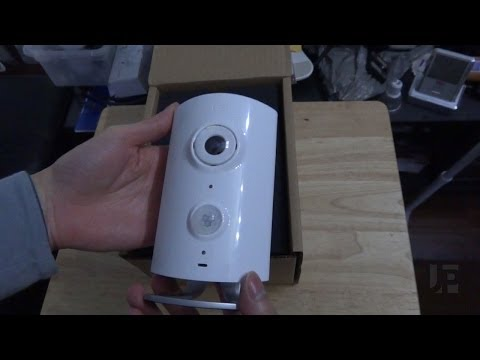 Blacksumac Piper Security Camera with Z-Wave Home Automation Unboxing & Preview
