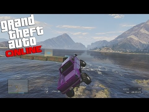 GTA 5 Online Fun Custom Race (To Do Terrain 2) GTA V MULTIPLAYER