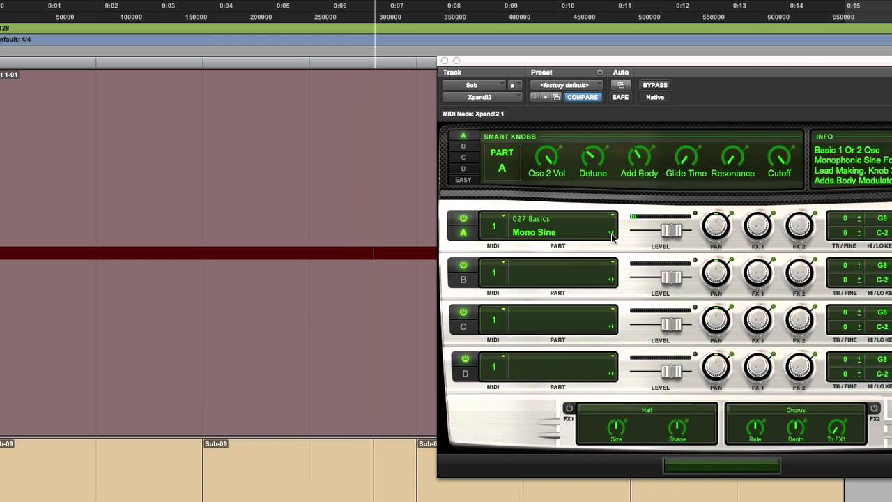 how to make a distant sound pro tools