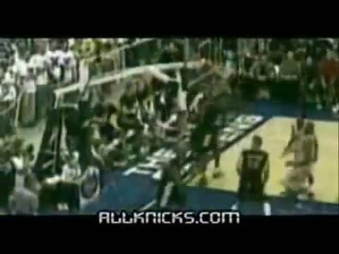 NBA dunks block fight mix Kenyon Martin carrer part1