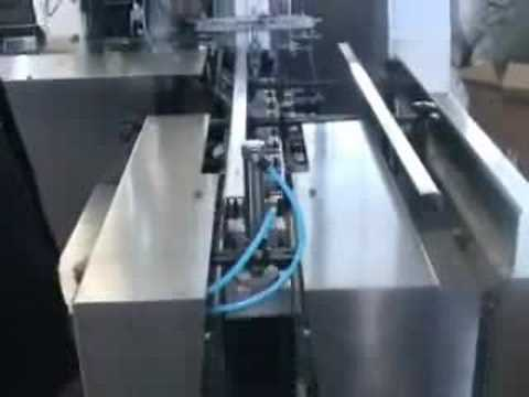 Blister packing line