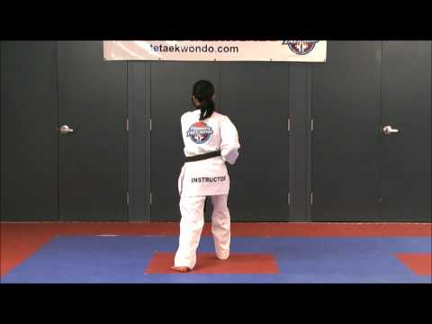Poomsae # 1, Back View