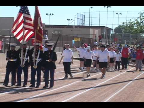 Special Olympics Area Games in Fontana, CA