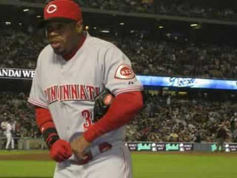 Ken Griffey Jr. Cincinnati Reds Tribute