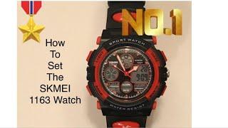 How to Set The SKMEI Digital Watch