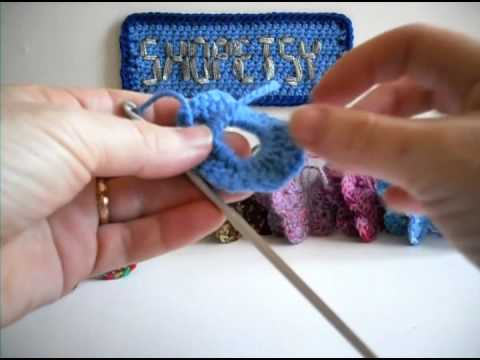 Crochet Butterfly Tutorial - Part 1