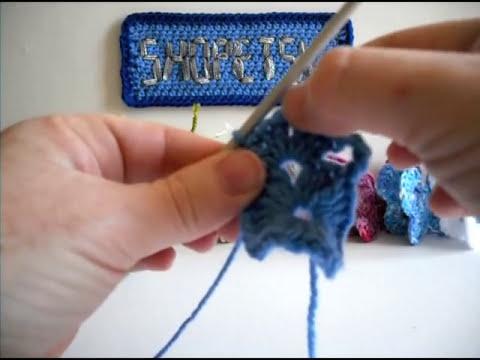 Crochet Butterfly Tutorial - Part 1