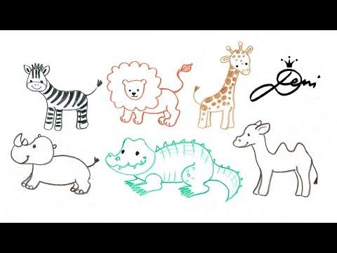 Ganz einfach Tiere zeichnen