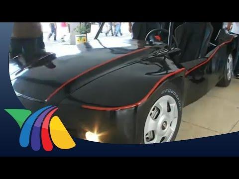 ¿Se imagina usted un carro que funciona con energía eléctrica, pero solar?   Noticias de Veracruz