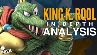 Smash Bros. Ultimate - K. Rool Pre-Release Analysis (Moveset, Frame Data, References)