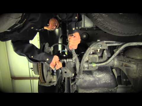 Convert GM SUV Electronic Autoride Suspension to an Arnott Coil Conversion Kit