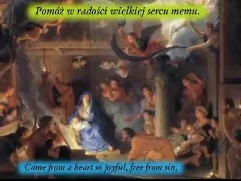 Koledy Gdy Sliczna Panna - (As The Lovely Maiden) - Polish Karaoke