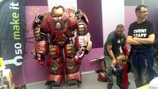 HulkBuster test by James Bruton of XRobots.co.uk