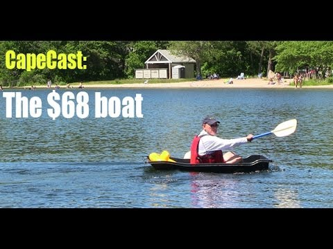Cheap boat fits in a small car youtube for Small boat motors cheap