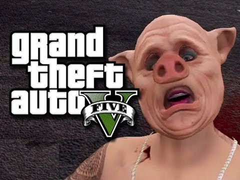 GTA 5 Online Wall Glitch and Funny Moments! (GTA V Glitches!)
