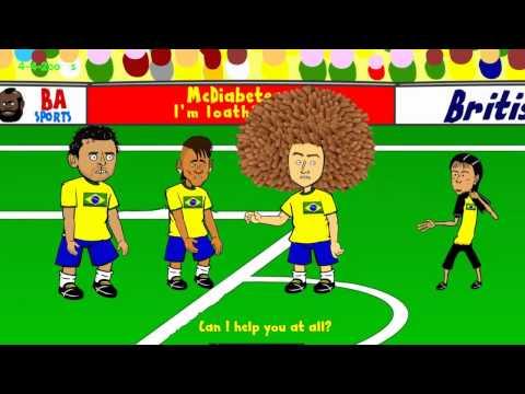 Brazil 3-1 croatia (Brazilian referee turned)
