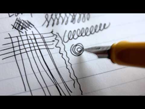 Lamy Safari Fountain Pen (EF) + Lamy Black Review (HD)