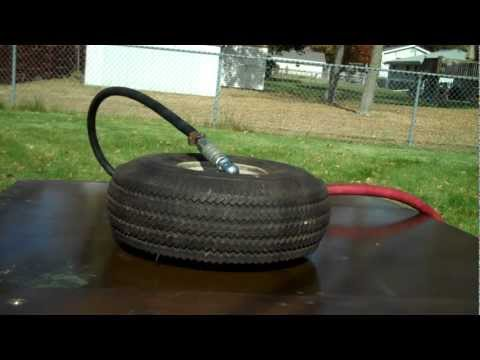 DON'T TRY THIS AT HOME! Tire Blow out