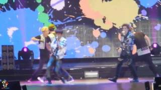 [Fancam] 130818 Infinite H - Victorious Way + Special Girl@One Great Step in Hong Kong