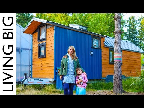 Download Lagu  Simple Living In Artistic Tiny Home With Huge Greenhouse Mp3 Free