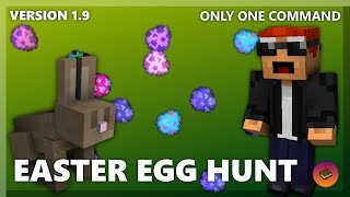 EASTER EGG MINIGAME in only one command! [Minecraft 1.10] ft. SmooBoo