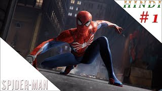 SPIDER MAN 2018 THE BEGINING HINDI #1
