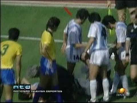 BRASIL VS ARGENTINA ITALIA 90, EL MISTERIO DEL AGUA