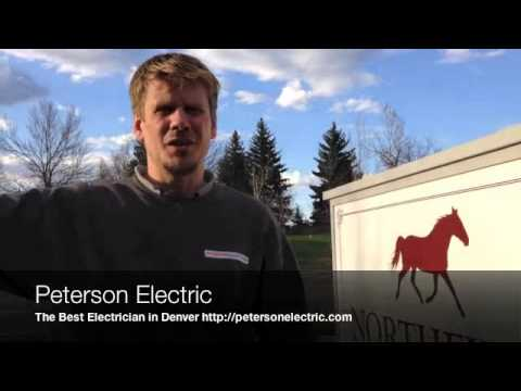 Repairing An Underground Wire For Electrical Entrance Sign, Fort Collins Electrician