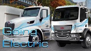 Electric Trucks? Peterbilt Previews Mid-Range 220EV Class 6, 579EV Class 8 Trucks For City Use