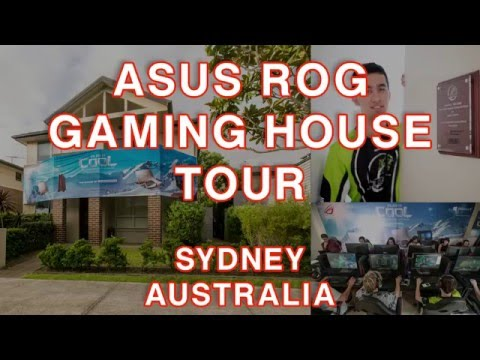 ASUS ROG Gaming House Tour - Sydney, Australia