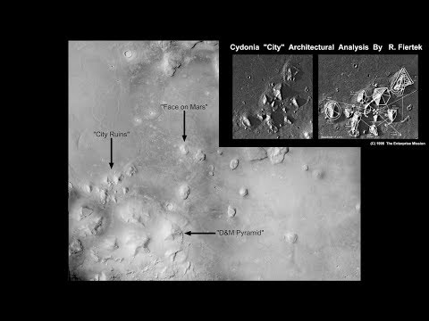 The Cydonia Region of Mars Explored