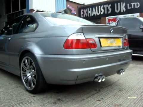 Bmw M3 E46 Performance Exhaust By Cobra Sport Exhausts