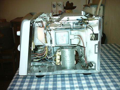 Микроволновая печь искрит ремонт своими руками