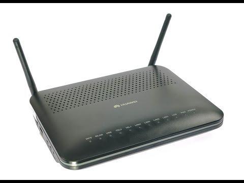 Настройка режима Router на модеме EchoLife HG8245H
