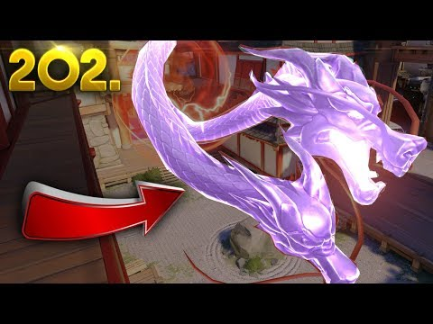 INVISIBLE Hanzo Ultimate..?? | OVERWATCH Daily Moments Ep. 202 (Funny and Random Moments)