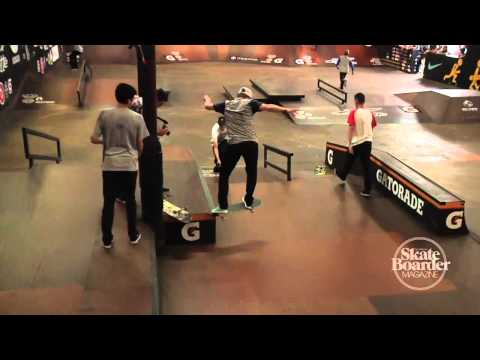 Skateboarder Magazine Warm Up Clip with Shane O&#39;Neill