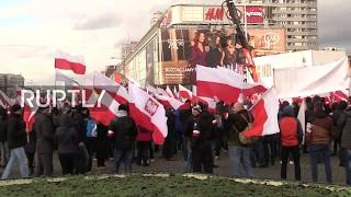 LIVE: Nationalists march in Warsaw on Polish Independence Day