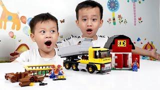 Đồ chơi lắp ráp mô hình   Nhạc thiếu nhi sôi động   Đồ chơi trẻ em Su Hào TV