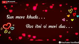 Sun mere khuda bas itni || 30 second whatsapp status||VishalVEVO|| Top song and Trending