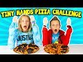 TINY HANDS PIZZA CHALLENGE!!!!!