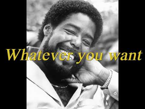 Barry White - Never, never gonna give you up (lyrics on screen)