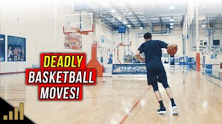 How to: DEADLY 1 on 1 Basketball Moves to KILL Fast Defenders!