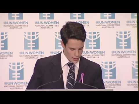 Joey Watson's speech at UN International Women's Day Breakfast