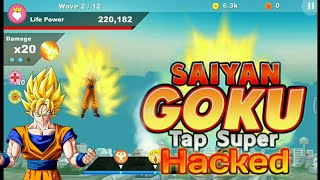 Game Android Saiyan Goku tap super z apk | Game Cheat Free unlimited money