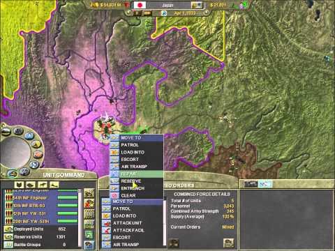 Let's Play: Supreme Ruler 2020 - Japan - Part 15