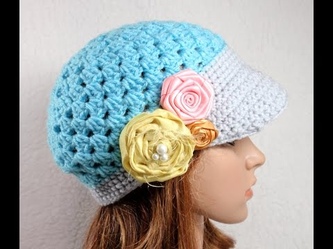 Crochet Hats And Headbands, Demo